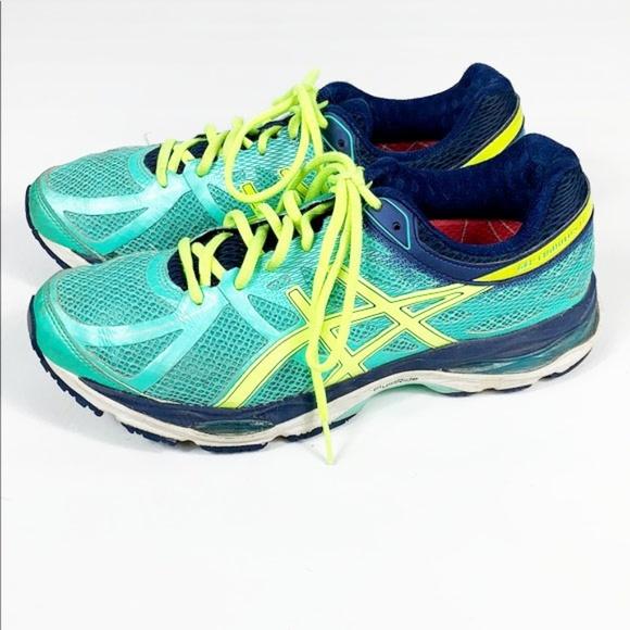 Details about Asics GEL Cumulus 17 Women's Running Shoes Size 9.5 Blue Gray Athletic T5D8N